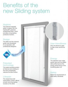 integral blinds - integrated venetian blinds